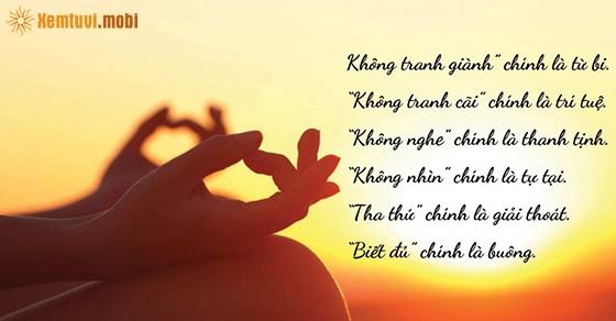 Phật dạy buông bỏ tình yêu để hạnh phúc hơn