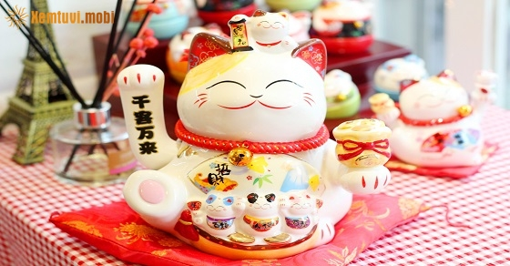 Vị trí đặt mèo Thần Tài mang lại may mắn, tài lộc cho chủ nhân