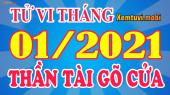 Tử vi tháng 1/2021 Đông phương của 12 con giáp