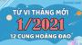 Tử vi tháng 1/2021 Tây phương của 12 cung hoàng đạo