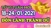 Tử vi tuần mới của 12 con giáp từ ngày 18/1 đến 24/1/2021