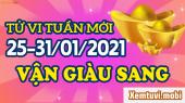 Tử vi tuần mới của 12 con giáp từ ngày 25/1 đến 31/1/2021