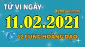 Tử vi ngày 11/2/2021 của 12 cung hoàng đạo thứ 5