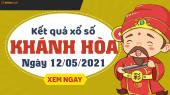 XSKH 12/5 - Xổ số Khánh Hòa ngày 12 tháng 5 năm 2021 - SXKH 12/5