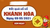 XSKH 9/5 - Xổ số Khánh Hòa ngày 9 tháng 5 năm 2021 - SXKH 9/5