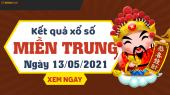XSMT 13/5 - SXMT 13/5 - KQXSMT 13/5 - Xổ số miền Trung ngày 13 tháng 5 năm 2021