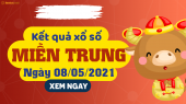 XSMT 8/5 - SXMT 8/5 - KQXSMT 8/5 - Xổ số miền Trung ngày 8 tháng 5 năm 2021