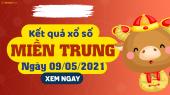 XSMT 9/5 - SXMT 9/5 - KQXSMT 9/5 - Xổ số miền Trung ngày 9 tháng 5 năm 2021