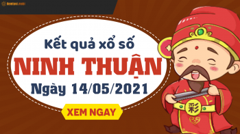 XSNT 14/5 - Xổ số Ninh Thuận ngày 14 tháng 5 năm 2021 - SXNT 14/5