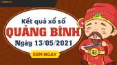 XSQB 13/5 - Xổ số Quảng Bình ngày 13 tháng 5 năm 2021 - SXQB 13/5