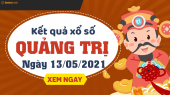 XSQT 13/5 - Xổ số Quảng Trị ngày 13 tháng 5 năm 2021 - SXQT 13/5