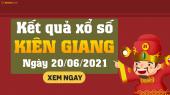 XSKG 20/6 - Xổ số Kiên Giang ngày 20 tháng 6 năm 2021 - SXKG 20/6