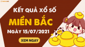XSMB 15/7 - SXMB 15/7 - KQXSMB 15/7 - Xổ số miền Bắc ngày 15 tháng 7 năm 2021