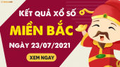 XSMB 23/7 - SXMB 23/7 - KQXSMB 23/7 - Xổ số miền Bắc ngày 23 tháng 7 năm 2021