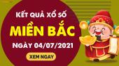 XSMB 4/7 - SXMB 4/7 - KQXSMB 4/7 - Xổ số miền Bắc ngày 4 tháng 7 năm 2021