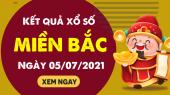 XSMB 5/7 - SXMB 5/7 - KQXSMB 5/7 - Xổ số miền Bắc ngày 5 tháng 7 năm 2021