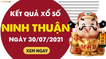 XSNT 30/7 - Xổ số Ninh Thuận ngày 30 tháng 7 năm 2021 - SXNT 30/7
