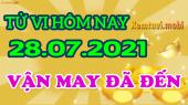Tử vi ngày 28/7/2021 của 12 con giáp thứ 4