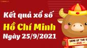 XSHCM 25/9 - Xổ số Hồ Chí Minh ngày 25 tháng 9 năm 2021 - SXHCM 25/9