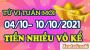 Tử vi tuần mới của 12 con giáp từ ngày 4/10 đến 10/10/2021
