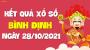 XSBDI 28/10 - Xổ số Bình Định ngày 28 tháng 10 năm 2021 - SXBDI 28/10
