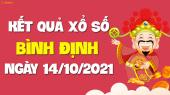 XSBDI 14/10 - Xổ số Bình Định ngày 14 tháng 10 năm 2021 - SXBDI 14/10