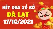 XSDL 17/10 - Xổ số Đà Lạt ngày 17 tháng 10 năm 2021 - SXDL 17/10