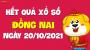 XSDN 20/10 - Xổ số Đồng Nai ngày 20 tháng 10 năm 2021 - SXDN 20/10