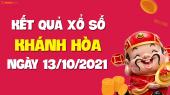 XSKH 13/10 - Xổ số Khánh Hòa ngày 13 tháng 10 năm 2021 - SXKH 13/10