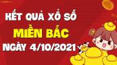 XSMB 4/10 - SXMB 4/10 - KQXSMB 4/10 - Xổ số miền Bắc ngày 4 tháng 10 năm 2021