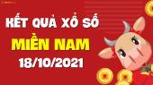 XSMN 18/10 - SXMN 18/10 - KQXSMN 18/10 - Xổ số miền Nam ngày 18 tháng 10 năm 2021