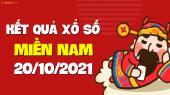 XSMN 20/10 - SXMN 20/10 - KQXSMN 20/10 - Xổ số miền Nam ngày 20 tháng 10 năm 2021