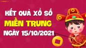 XSMT 15/10 - SXMT 15/10 - KQXSMT 15/10 - Xổ số miền Trung ngày 15 tháng 10 năm 2021