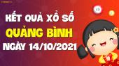 XSQB 14/10 - Xổ số Quảng Bình ngày 14 tháng 10 năm 2021 - SXQB 14/10